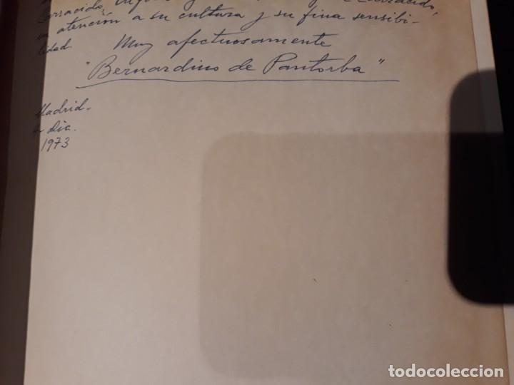 Libros antiguos: EL PINTOR JIMENEZ ARANDA / BERNARDINO DE PANTORBA . CON DEDICATORIA DEL AUTOR - Foto 2 - 142696450