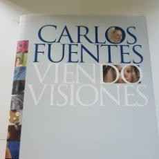Libros antiguos: CARLOS FUENTES. VIENDO VISIONES. Lote 142848242