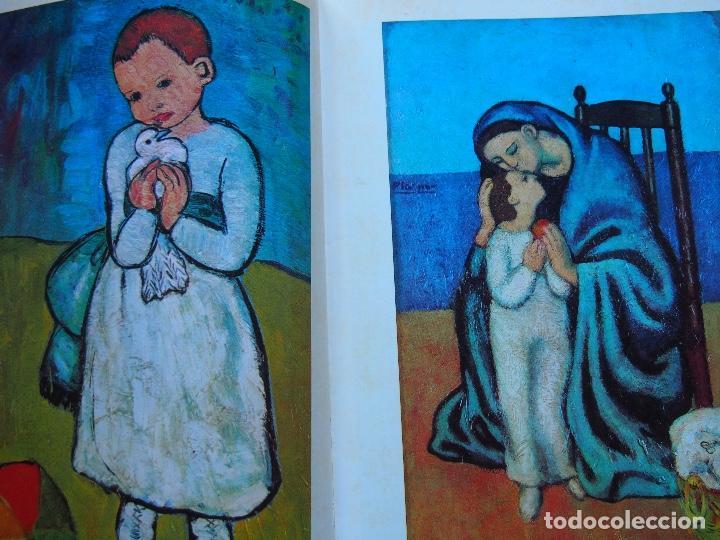 Libros antiguos: La obra pictórica completa de Picasso azul y rosa - Alberto Moravia - Paolo Lecaldano - Foto 3 - 144243114