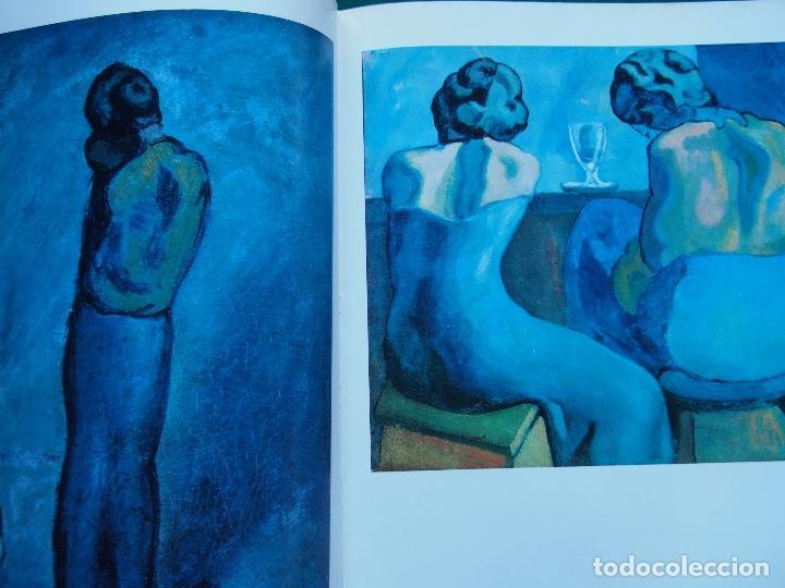 Libros antiguos: La obra pictórica completa de Picasso azul y rosa - Alberto Moravia - Paolo Lecaldano - Foto 4 - 144243114