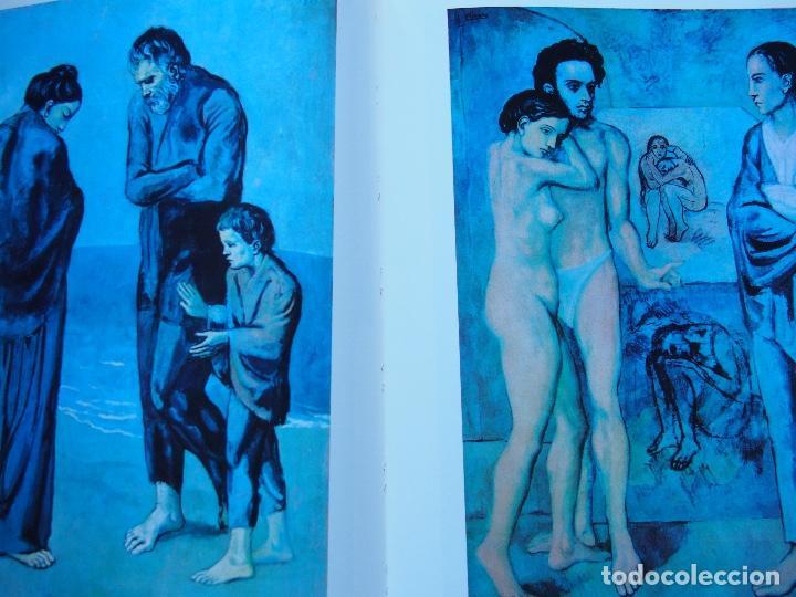 Libros antiguos: La obra pictórica completa de Picasso azul y rosa - Alberto Moravia - Paolo Lecaldano - Foto 5 - 144243114