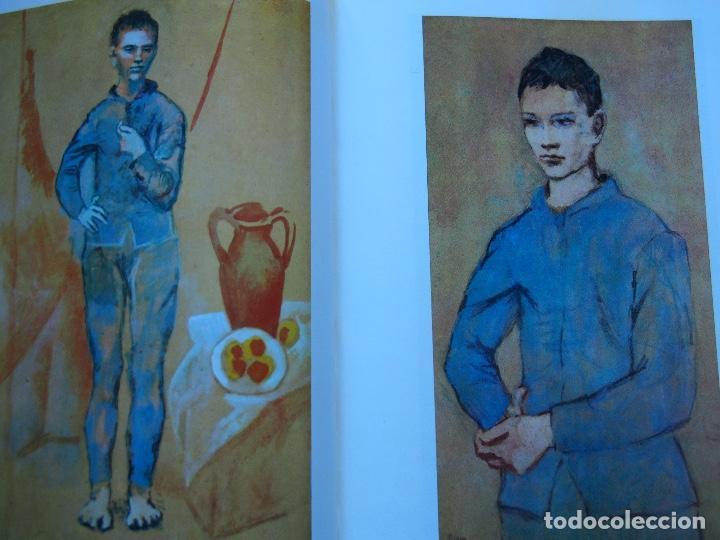 Libros antiguos: La obra pictórica completa de Picasso azul y rosa - Alberto Moravia - Paolo Lecaldano - Foto 7 - 144243114