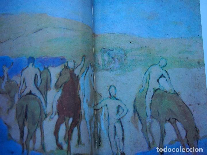 Libros antiguos: La obra pictórica completa de Picasso azul y rosa - Alberto Moravia - Paolo Lecaldano - Foto 8 - 144243114