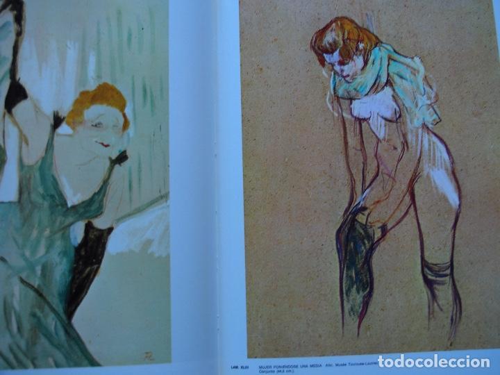 Libros antiguos: La obra pictórica completa de Toulouse Lautrec- Giorgio Caproni - G. M. Sugana - Foto 6 - 249523385