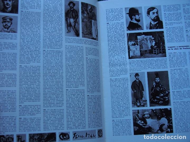 Libros antiguos: La obra pictórica completa de Toulouse Lautrec- Giorgio Caproni - G. M. Sugana - Foto 8 - 249523385