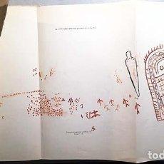 Libros antiguos: LAS PINTURAS PREHISTÓRICAS DE PEÑA TÚ. (ASTURIAS LLANES) 1ª EDICIÓN 1914, FOTOTIPIA Y COLOR (CABRÉ... Lote 145882230