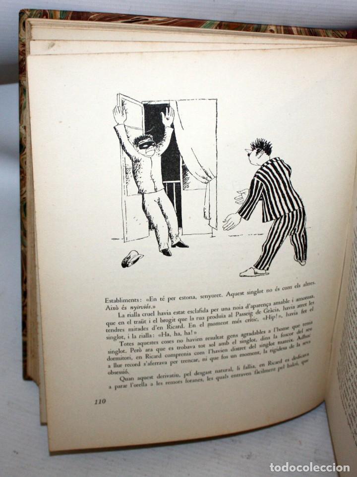 Libros antiguos: LHUMOR A LA BARCELONA DEL NOUCENTS-XAVIER NOGUÉS-ENCUADERNACIÓN DE LUJO. - Foto 4 - 147643522