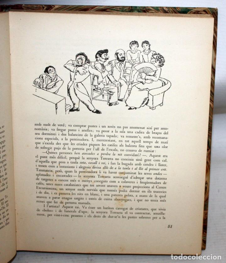 Libros antiguos: LHUMOR A LA BARCELONA DEL NOUCENTS-XAVIER NOGUÉS-ENCUADERNACIÓN DE LUJO. - Foto 5 - 147643522
