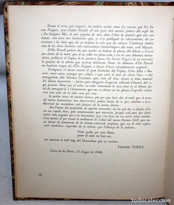 Libros antiguos: LHUMOR A LA BARCELONA DEL NOUCENTS-XAVIER NOGUÉS-ENCUADERNACIÓN DE LUJO. - Foto 7 - 147643522