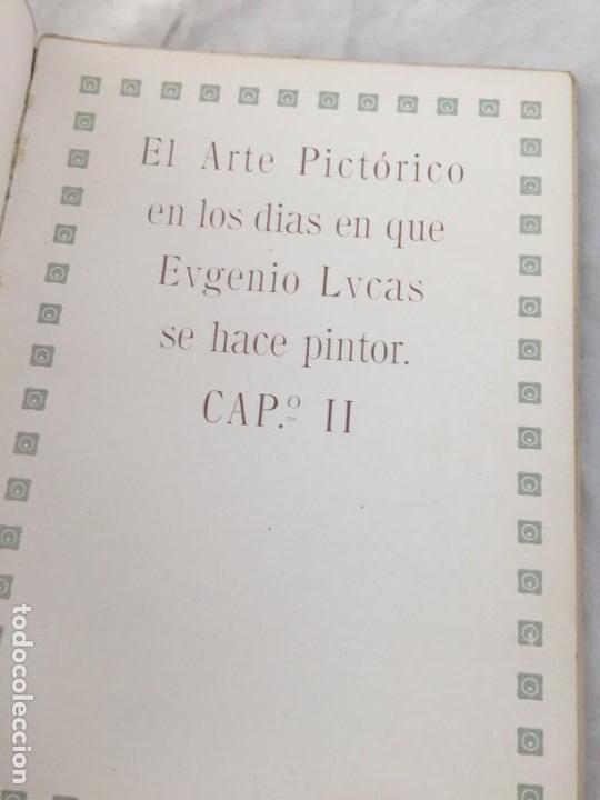 Libros antiguos: Eugenio Lucas por R Balsa de la Vega Madrid 1911 ilustrado - Foto 6 - 147815158