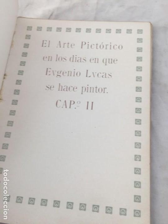 Libros antiguos: Eugenio Lucas por R Balsa de la Vega Madrid 1911 ilustrado - Foto 7 - 147815158