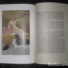 Libros antiguos: KAHN, GUSTAVE: FELICIEN ROPS. BERLIN, MARQUARDT & CO. SIN FECHA. TEXTO EN ALEMÁN. Lote 147910026