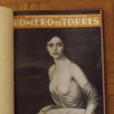 Libros antiguos: LIBRO LOS GRANDES ARTISTAS CONTEMPORÁNEOS. ROMERO DE TORRES, SOROLLA, VÁZQUEZ ÚBEDA, JULIO MOISÉS. Lote 151361226