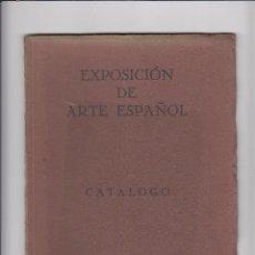 Libros antiguos: EXPOSICIÓN DE ARTE ESPAÑOL.CATÁLOGO.OSLO.ABRIL 1931. Lote 151412230