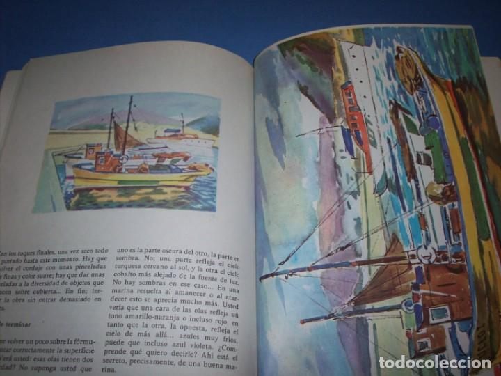 Libros antiguos: la acuarela y su tecnica - Foto 2 - 151427066