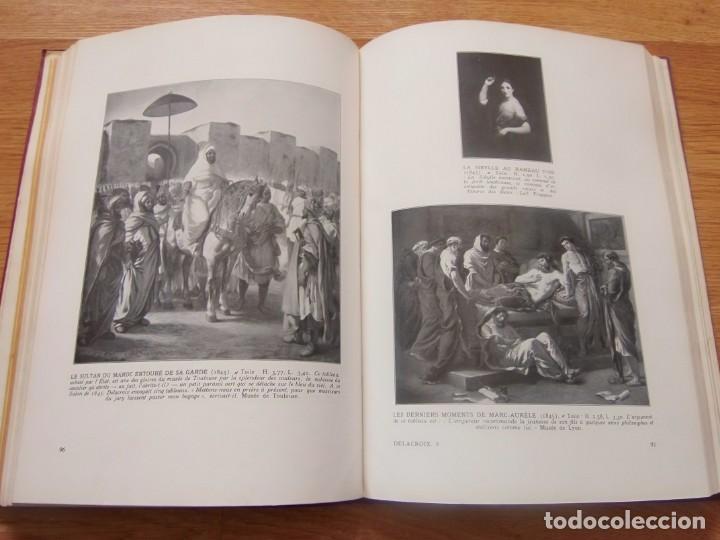 Libros antiguos: DELACROIX. l´OEUVRE DU MAITRE - Foto 2 - 152545166