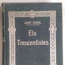 Libros antiguos: LIBRO ÉLS TRESCENTISTES PINTURA MEDIEVAL CIRCA 1920 JOSEP GUDIOL. Lote 153432746