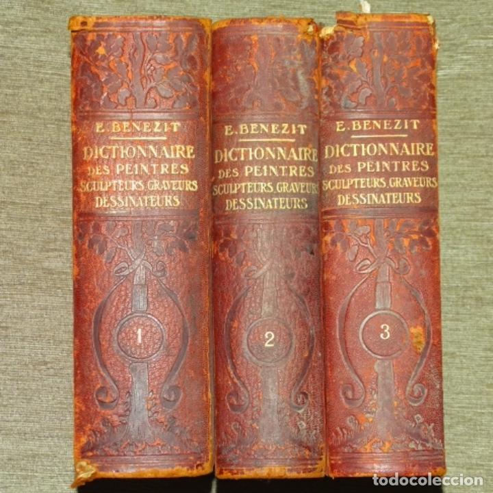 PRIMER DICCIONARIO E. BENEZIT DE 1924.3 TOMOS. (Libros Antiguos, Raros y Curiosos - Bellas artes, ocio y coleccion - Pintura)