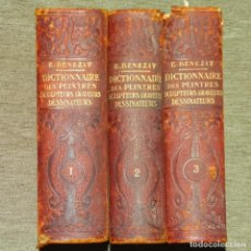 Libros antiguos: PRIMER DICCIONARIO E. BENEZIT DE 1924.3 TOMOS.. Lote 153509490