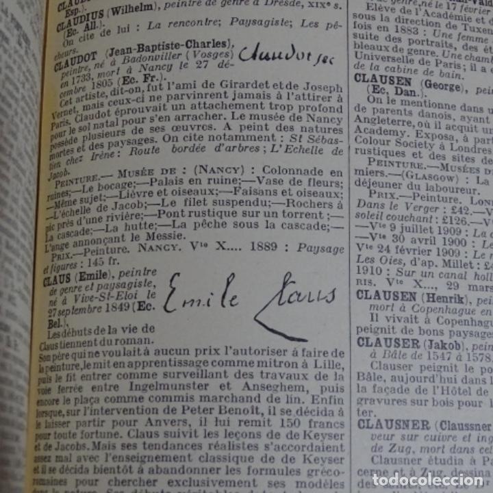 Libros antiguos: Primer Diccionario e. Benezit de 1924.3 tomos. - Foto 4 - 153509490