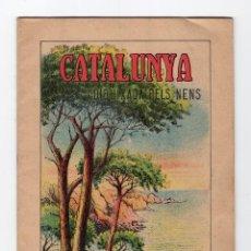 Libros antiguos: CATALUNYA DIBUIXADA PELS NENS · CUADERNO Nº 3 -M.A. SALVATELLA-. Lote 155666050