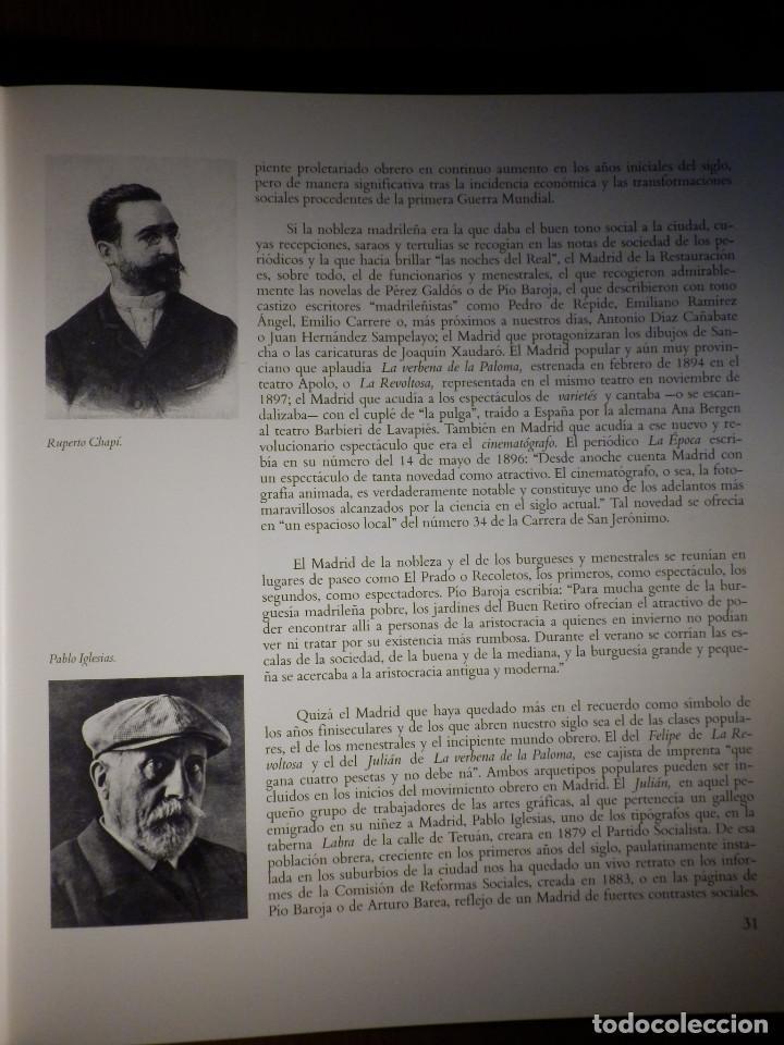 Libros antiguos: Retratos de Madrid Villa y Corte - Ayuntamiento de Madrid - 1992 - Foto 3 - 156944562