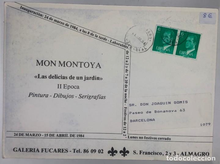 Libros antiguos: CATÁLOGO ARTE - MON MONTOYA LAS DELICIAS DE UN JARDÍN - II 2ª EPOCA / N-8363 - Foto 2 - 157695034
