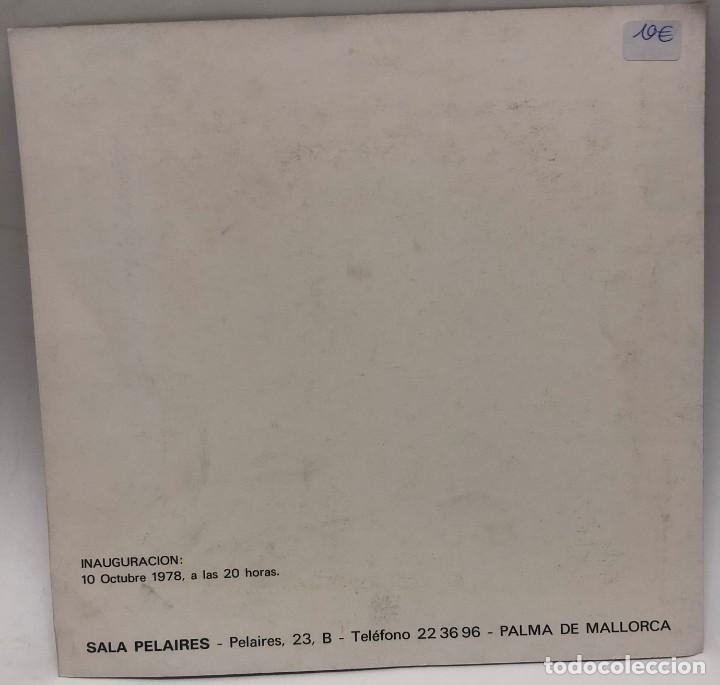 Libros antiguos: CATÁLOGO ARTE - EXPOSICIÓN JIM BIRD - SALA PELAIRES - AÑO 1978 / N-8366 - Foto 2 - 157696290