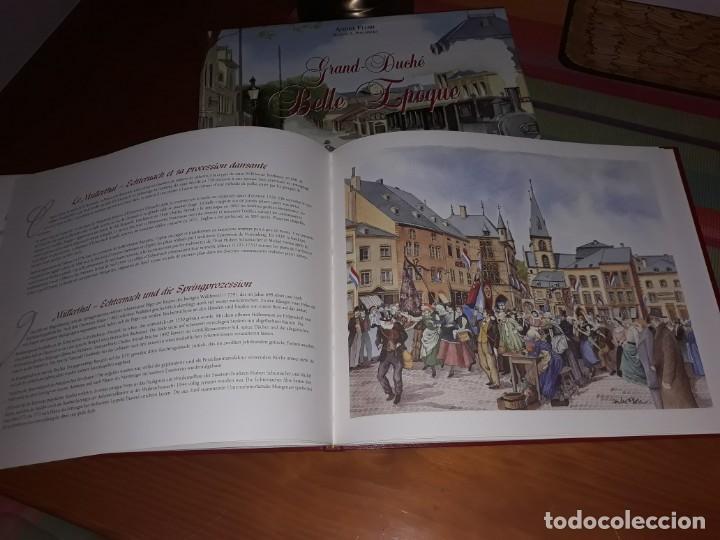 Libros antiguos: Libro de Acuarelas de Luxemburgo de André Flori Grand-Duché Belle Epoque - Foto 3 - 158127406
