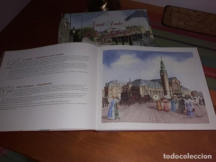 Libros antiguos: Libro de Acuarelas de Luxemburgo de André Flori Grand-Duché Belle Epoque - Foto 4 - 158127406