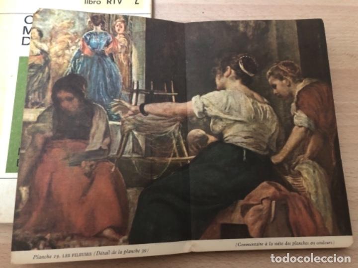 Libros antiguos: LOTE DE 3 LIBROS , CIEN OBRAS MAESTRAS DE LA PINTURA , VELÁZQUEZ , Y AMOR TERCER MILENIO . - Foto 3 - 158364906
