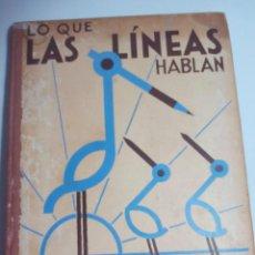 Libros antiguos: METODO DE DIBUJO LO QUE LAS LINEAS HABLAN. Lote 158790278
