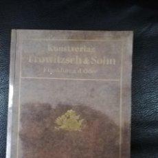 Libros antiguos: KUNSTVERLAG - TROWITZSCH & SOHN - FRANKFURT A.D. ODER. 1925 (ALEMÁN). Lote 159214322