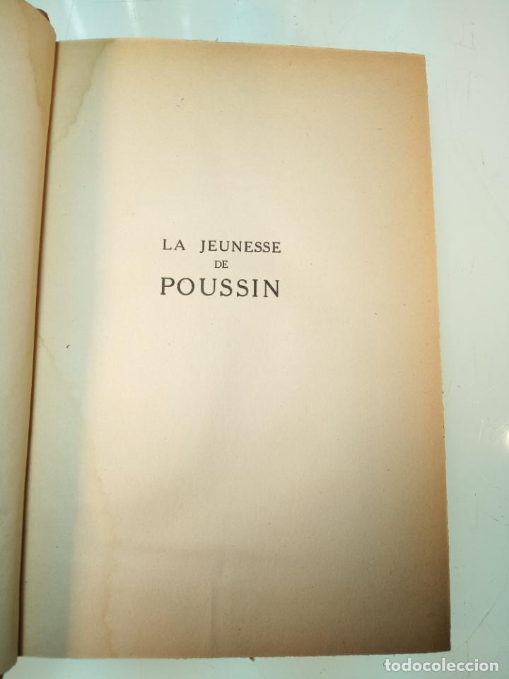 Libros antiguos: La Jeunesse de Poussin. Louis Hourticq. Librairie Hachette. París. 1937. - Foto 3 - 159440122