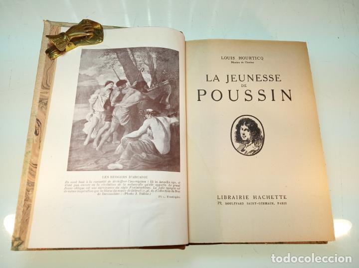 Libros antiguos: La Jeunesse de Poussin. Louis Hourticq. Librairie Hachette. París. 1937. - Foto 4 - 159440122
