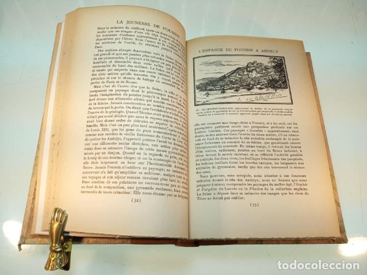 Libros antiguos: La Jeunesse de Poussin. Louis Hourticq. Librairie Hachette. París. 1937. - Foto 6 - 159440122