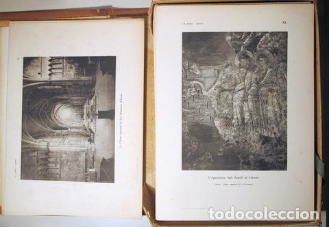 Libros antiguos: Giotto - SUPINO, I.B. - GIOTTO ( 2 vol. - Completo) - Firenze 1920 - Muy ilustrado - Foto 2 - 159610349