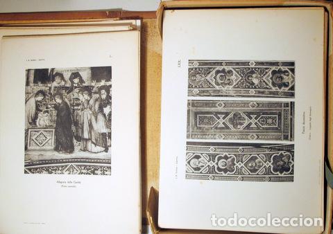 Libros antiguos: Giotto - SUPINO, I.B. - GIOTTO ( 2 vol. - Completo) - Firenze 1920 - Muy ilustrado - Foto 3 - 159610349