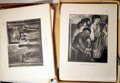Libros antiguos: Giotto - SUPINO, I.B. - GIOTTO ( 2 vol. - Completo) - Firenze 1920 - Muy ilustrado - Foto 4 - 159610349