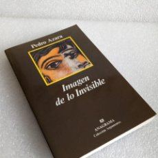 Livros antigos: IMAGEN DE LO INVISIBLE - PEDRO AZARA ANAGRAMA SIN LEER. Lote 160234746