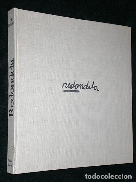 Libros antiguos: REDONDELA. POR JOSÉ HIERRO (LIBRO-CATÁLOGO+4 LITOGRAFÍAS ORIGINALES FIRMADAS) - Foto 4 - 160456286