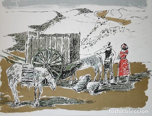 Libros antiguos: REDONDELA. POR JOSÉ HIERRO (LIBRO-CATÁLOGO+4 LITOGRAFÍAS ORIGINALES FIRMADAS) - Foto 9 - 160456286