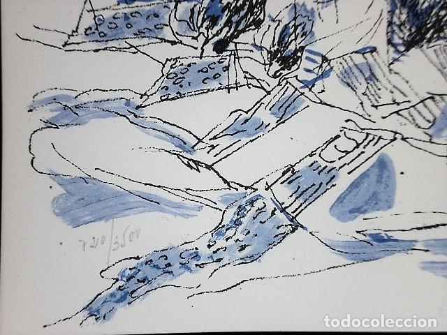 Libros antiguos: REDONDELA. POR JOSÉ HIERRO (LIBRO-CATÁLOGO+4 LITOGRAFÍAS ORIGINALES FIRMADAS) - Foto 11 - 160456286