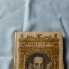 Libros antiguos: EL GRECO. Lote 160680286