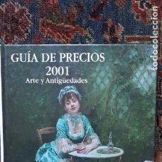 Libros antiguos: CATALOGO GUIA DE PRECIOS ANTIQVARIA. Lote 160819702