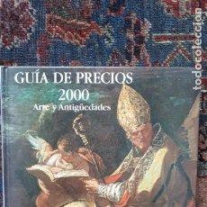 Libros antiguos: CATALOGO PRECIOS SUBASTAS ANTIQVARIA. Lote 160819982