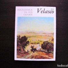 Libros antiguos: PINACOTECA DE LOS GENIOS VELASCO 114. Lote 165379998
