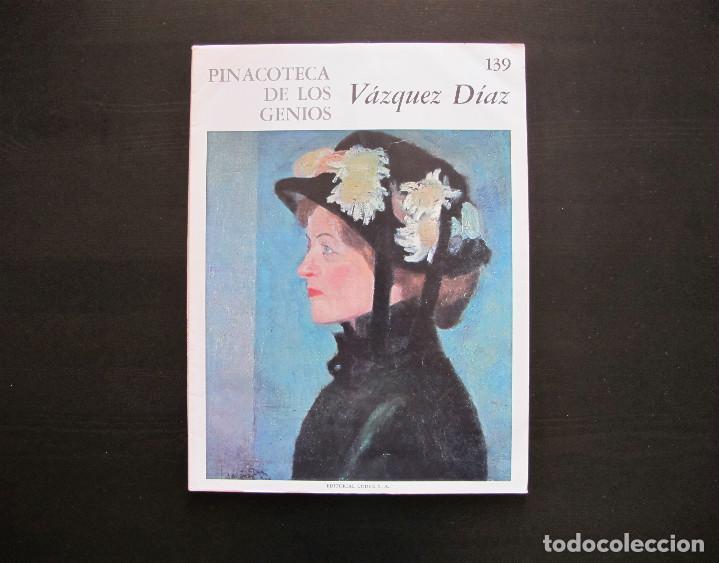 PINACOTECA DE LOS GENIOS VÁZQUEZ DÍAZ 139 (Libros Antiguos, Raros y Curiosos - Bellas artes, ocio y coleccion - Pintura)