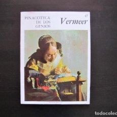 Libros antiguos: PINACOTECA DE LOS GENIOS VERMEER 47. Lote 165381534