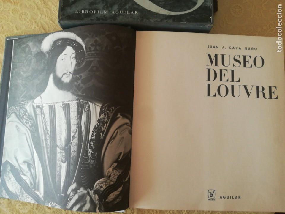 Libros antiguos: MUSEO DEL LOUVRE. JUAN ANTONIO GAYÁ NUÑO. Librofilm Aguilar - Foto 2 - 165842318